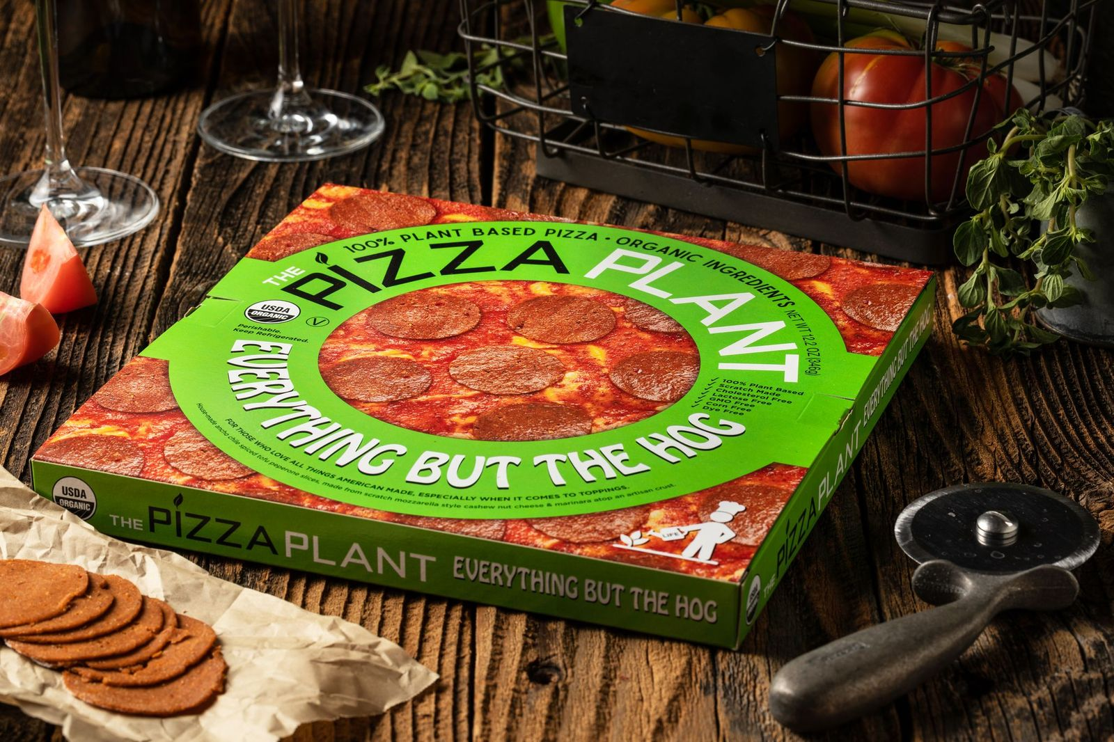 Everything But the Hog Plant-Based Pizza