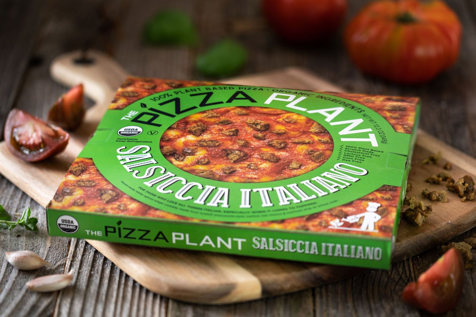 Saliccia Italiano Plant-Based Pizza